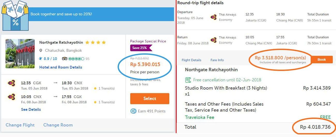 Biaya liburan ke thailand tiket dan hotel murah