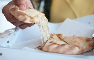 Makan Pizza Lipat di Bandar Lampung