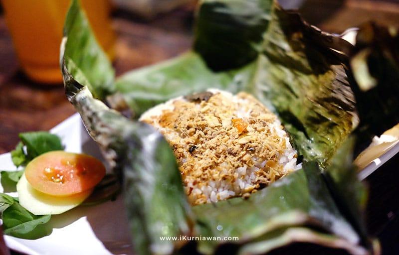 Nasi Bakar Menu Makanan di Ramintan Yogyakarta