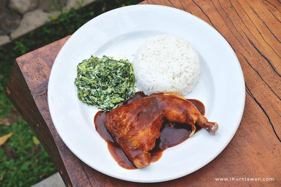 Menu Ayam Panggang Ajib's Kitchen Bandar Lampung