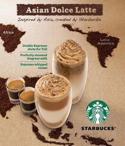 Minuman favorit di Starbucks Asian Dolce Latte