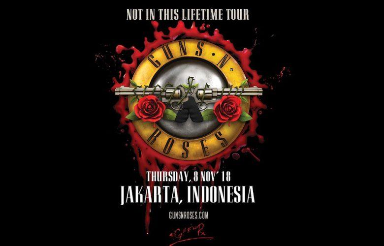 Konser Guns N Roses Di Indonesia 2018