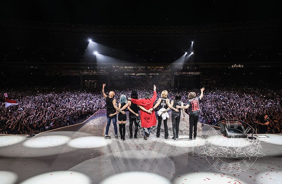 Penutup Konser Guns N Roses Jakarta Indonesia 2018