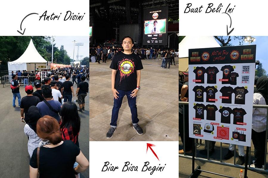 Review Nonton Konser Guns N Roses Jakarta
