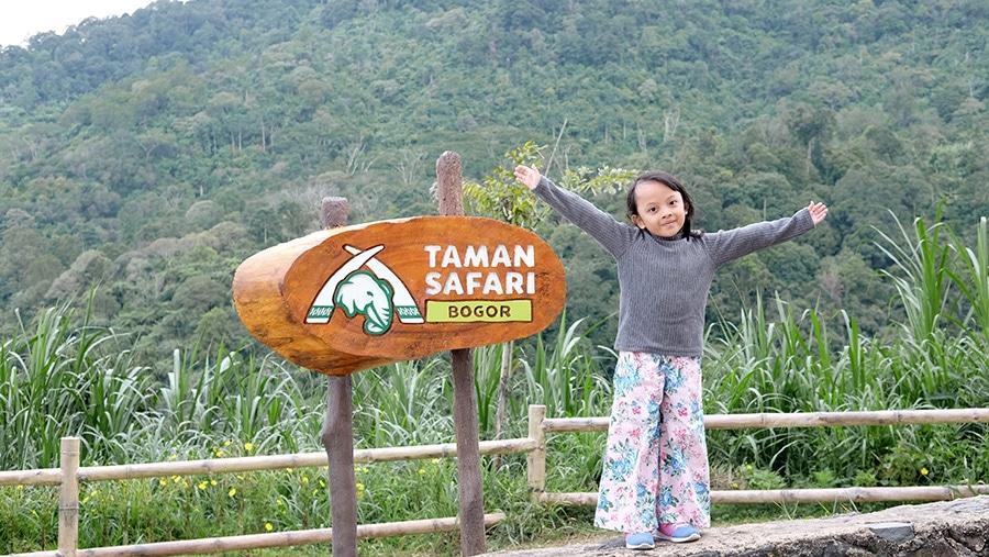 Liburan anak di Taman Safari Indonesia
