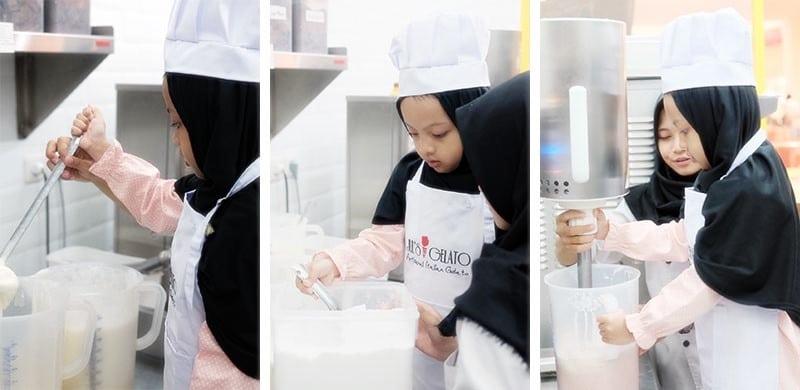 Belajar Membuat Es Krim Gelato Untuk Anak