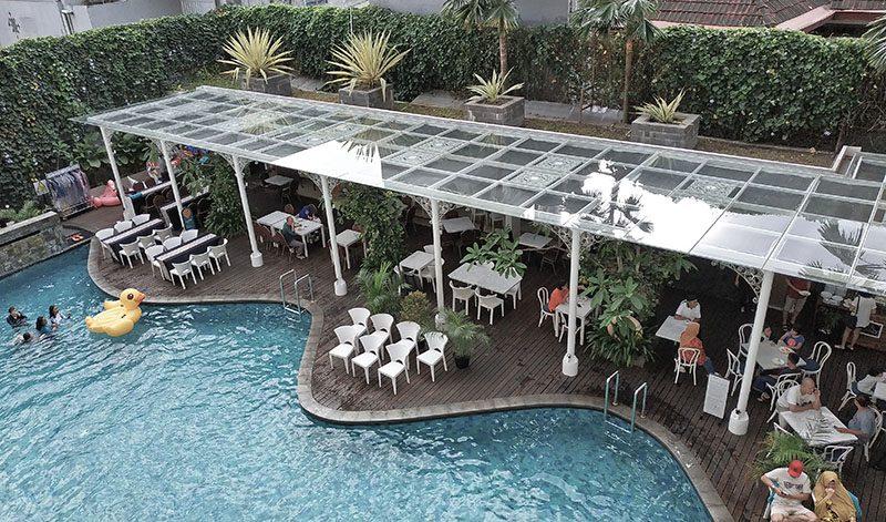 Kolam renang The 101 Yogyakarta Tugu Hotel